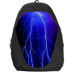 Lightning Electricity Elements Danger Night Lines Patterns Ultra Backpack Bag