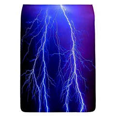 Lightning Electricity Elements Danger Night Lines Patterns Ultra Flap Covers (S)