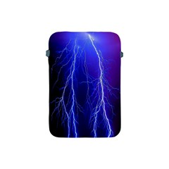 Lightning Electricity Elements Danger Night Lines Patterns Ultra Apple iPad Mini Protective Soft Cases