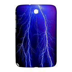Lightning Electricity Elements Danger Night Lines Patterns Ultra Samsung Galaxy Note 8.0 N5100 Hardshell Case