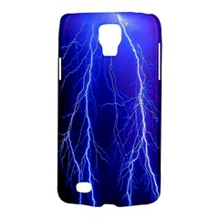 Lightning Electricity Elements Danger Night Lines Patterns Ultra Galaxy S4 Active