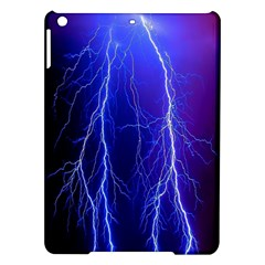 Lightning Electricity Elements Danger Night Lines Patterns Ultra iPad Air Hardshell Cases