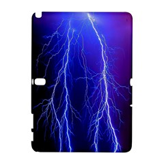 Lightning Electricity Elements Danger Night Lines Patterns Ultra Galaxy Note 1