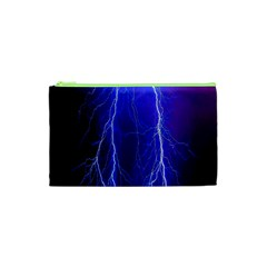Lightning Electricity Elements Danger Night Lines Patterns Ultra Cosmetic Bag (XS)