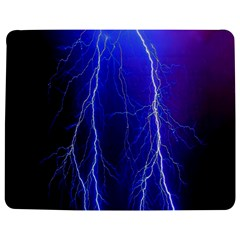 Lightning Electricity Elements Danger Night Lines Patterns Ultra Jigsaw Puzzle Photo Stand (Rectangular)