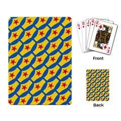 Images Album Heart Frame Star Yellow Blue Red Playing Card