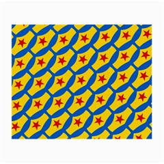 Images Album Heart Frame Star Yellow Blue Red Small Glasses Cloth (2-Side)