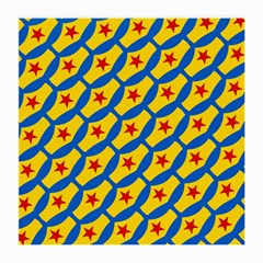 Images Album Heart Frame Star Yellow Blue Red Medium Glasses Cloth (2-Side)