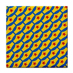 Images Album Heart Frame Star Yellow Blue Red Face Towel
