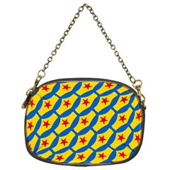 Images Album Heart Frame Star Yellow Blue Red Chain Purses (Two Sides)