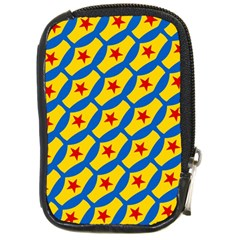 Images Album Heart Frame Star Yellow Blue Red Compact Camera Cases
