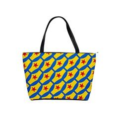 Images Album Heart Frame Star Yellow Blue Red Shoulder Handbags