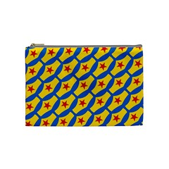 Images Album Heart Frame Star Yellow Blue Red Cosmetic Bag (Medium)