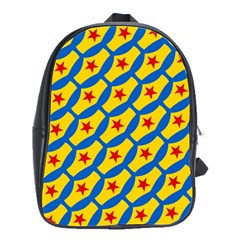 Images Album Heart Frame Star Yellow Blue Red School Bags(Large)