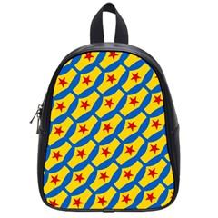 Images Album Heart Frame Star Yellow Blue Red School Bags (Small)