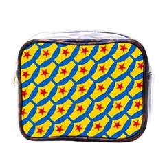 Images Album Heart Frame Star Yellow Blue Red Mini Toiletries Bags