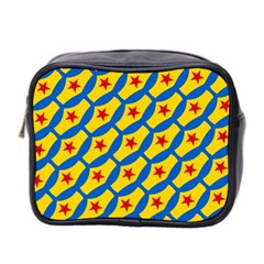 Images Album Heart Frame Star Yellow Blue Red Mini Toiletries Bag 2-Side