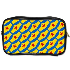 Images Album Heart Frame Star Yellow Blue Red Toiletries Bags 2-Side