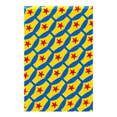 Images Album Heart Frame Star Yellow Blue Red Shower Curtain 48  x 72  (Small)