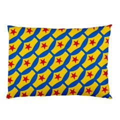 Images Album Heart Frame Star Yellow Blue Red Pillow Case (Two Sides)