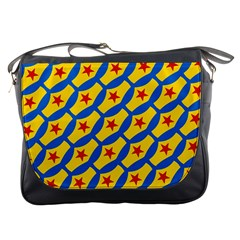 Images Album Heart Frame Star Yellow Blue Red Messenger Bags