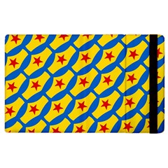Images Album Heart Frame Star Yellow Blue Red Apple iPad 2 Flip Case