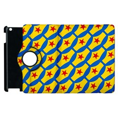 Images Album Heart Frame Star Yellow Blue Red Apple iPad 3/4 Flip 360 Case