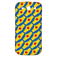 Images Album Heart Frame Star Yellow Blue Red Samsung Galaxy S3 S III Classic Hardshell Back Case