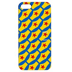 Images Album Heart Frame Star Yellow Blue Red Apple iPhone 5 Hardshell Case with Stand