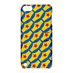 Images Album Heart Frame Star Yellow Blue Red Apple iPod Touch 5 Hardshell Case with Stand