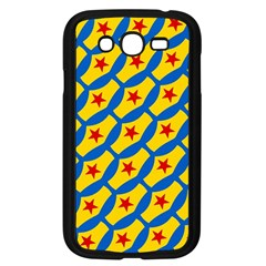 Images Album Heart Frame Star Yellow Blue Red Samsung Galaxy Grand DUOS I9082 Case (Black)