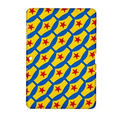 Images Album Heart Frame Star Yellow Blue Red Samsung Galaxy Tab 2 (10.1 ) P5100 Hardshell Case