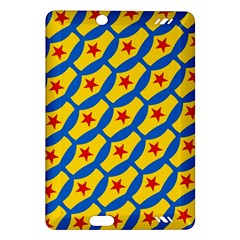 Images Album Heart Frame Star Yellow Blue Red Amazon Kindle Fire HD (2013) Hardshell Case