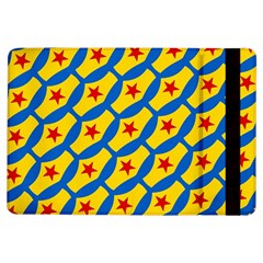 Images Album Heart Frame Star Yellow Blue Red iPad Air Flip