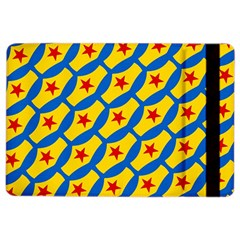 Images Album Heart Frame Star Yellow Blue Red iPad Air 2 Flip