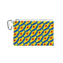 Images Album Heart Frame Star Yellow Blue Red Canvas Cosmetic Bag (S)