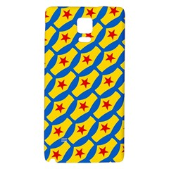 Images Album Heart Frame Star Yellow Blue Red Galaxy Note 4 Back Case