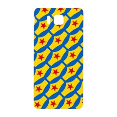 Images Album Heart Frame Star Yellow Blue Red Samsung Galaxy Alpha Hardshell Back Case