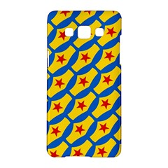 Images Album Heart Frame Star Yellow Blue Red Samsung Galaxy A5 Hardshell Case