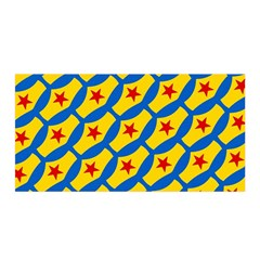 Images Album Heart Frame Star Yellow Blue Red Satin Wrap