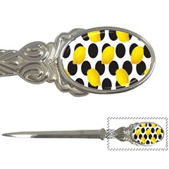 Orange Lime Fruit Yellow Hole Letter Openers