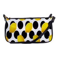 Orange Lime Fruit Yellow Hole Shoulder Clutch Bags