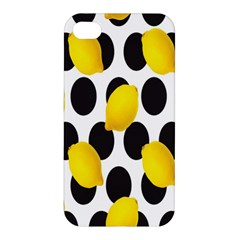Orange Lime Fruit Yellow Hole Apple iPhone 4/4S Hardshell Case