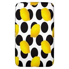 Orange Lime Fruit Yellow Hole Samsung Galaxy Tab 3 (8 ) T3100 Hardshell Case
