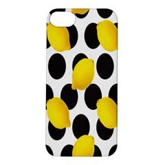 Orange Lime Fruit Yellow Hole Apple iPhone 5S/ SE Hardshell Case