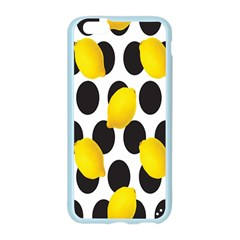 Orange Lime Fruit Yellow Hole Apple Seamless iPhone 6/6S Case (Color)