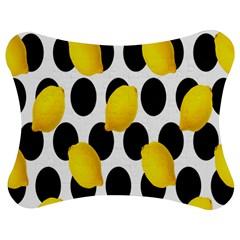 Orange Lime Fruit Yellow Hole Jigsaw Puzzle Photo Stand (Bow)