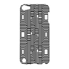 Line Hole Plaid Pattern Apple iPod Touch 5 Hardshell Case