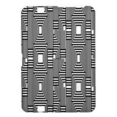 Line Hole Plaid Pattern Kindle Fire HD 8.9