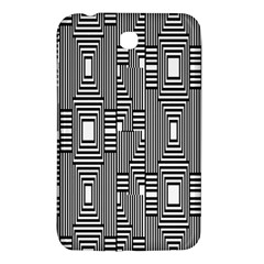 Line Hole Plaid Pattern Samsung Galaxy Tab 3 (7 ) P3200 Hardshell Case